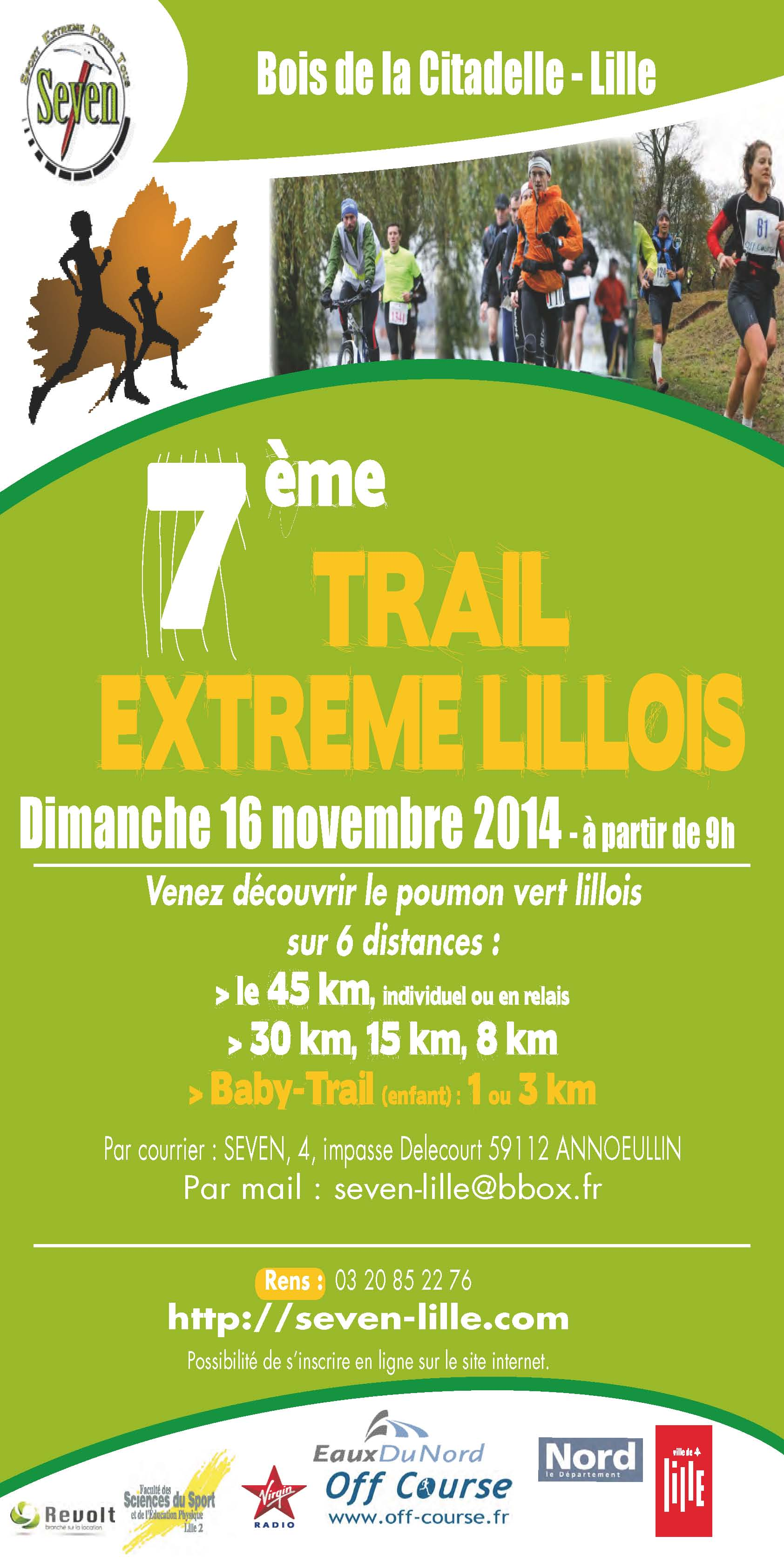 AfficheTrail EXTREM 2014